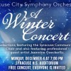 Winter Concert Syracuse Arts Council Symphony Orchestra